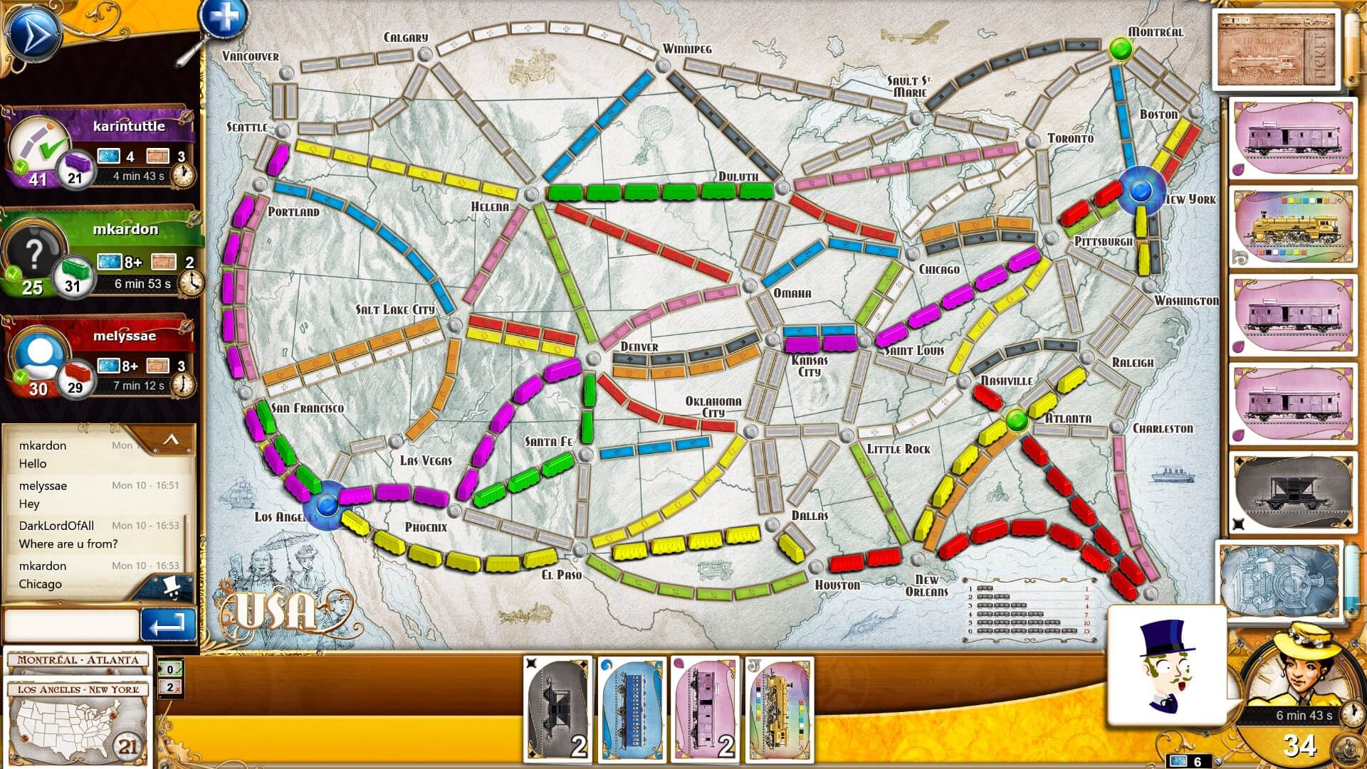 Ticket to Ride on Steam
